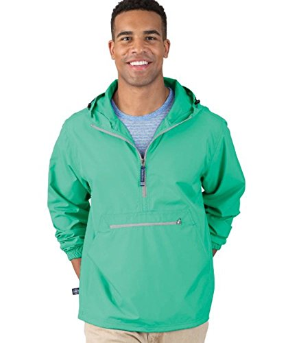 Charles River Apparel PackNGo Wind amp WaterResistant Pullover Reg/Ext Sizes Mint M
