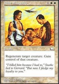 Magic: the Gathering - Debt of Loyalty - Weatherlight (Debt Cards)