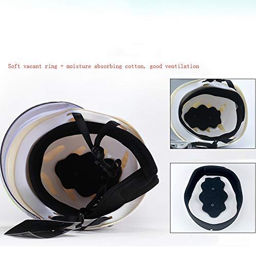 SYLTL - Casco de Moto eléctrico para Hombre y Mujer, con ...