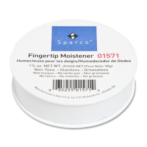S.P. Richards Company Sortkwik Fingertip Moistener, Nonskid Back, 1-3/4 oz. (SPR01571), Model:SPR01571, Office Accessories & Supply Shop