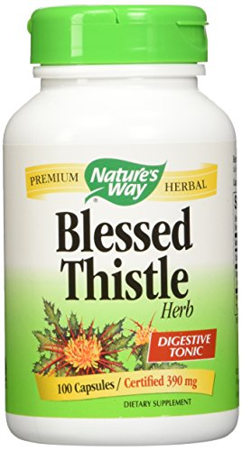 Nature's Way Blessed Thistle (390mg) 100 Capsules + FREE Fenugreek (610mg) 100 (Blessed Thistle Capsules)
