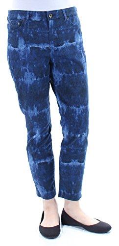 Lauren Ralph Lauren Womens Slimming Fit Crop Skinny Jeans Blue 10 by RALPH LAUREN (Image #2)