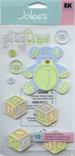 Jolees Baby Collection - Jolee's Boutique Baby Collection Large 3 Dimensional Stickers Boy Toys