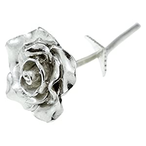 Pirantin Tin Anniversary 10 Year Everlasting Rose – 100% Pure Casted Tin Great Anniversary Idea