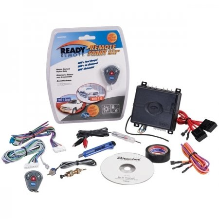 READY REMOTE 24923 DO-IT-YOURSELF BASIC REMOTE START WITH KEYLESS ENTRY ()