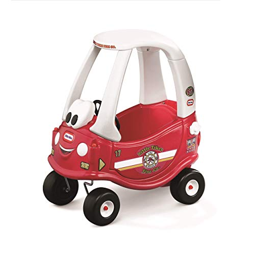 - Little Tikes Ride & Rescue Cozy Coupe-30th Anniversary Edition (Renewed)