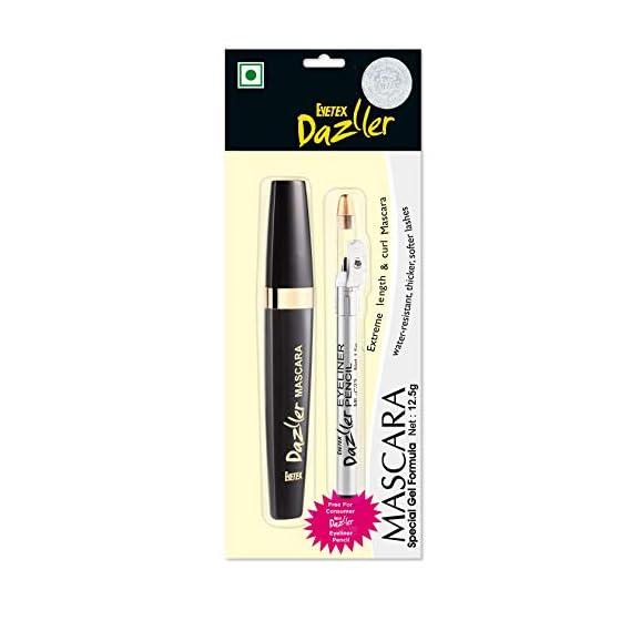 Eyetex Dazller Mascara 12.5g with FREE INSIDE - Eyetex Dazller Eyeliner Pencil 1.5g