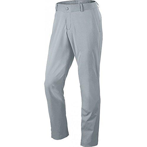 Nike Golf Men's Modern Tech Woven Pants, Wolf Grey, 38 X 32 (Nike Golf Pants Slim Fit)