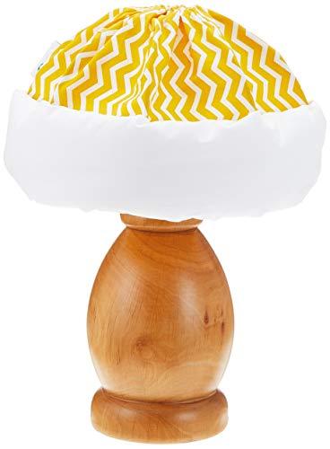 Italbaby Zig Zag Table Lamp, Saffron/Natural, Multi-Color, One Size