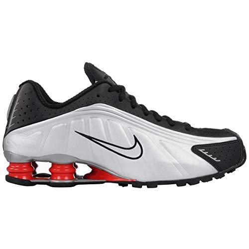 Nike Shox R4 BV1111 (7.5, Silver/Black/Red) ()
