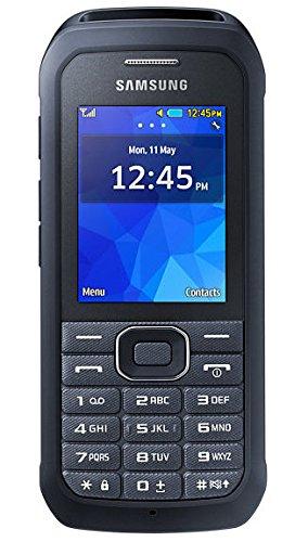 bolsa del cinturón / funda para Samsung Xcover 550, negro + Auriculares | caja del teléfono cubierta protectora bolso - K-S-Trade (TM)