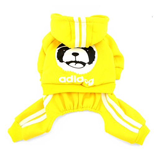 SMALLLEE_LUCKY_STORE  Thick Warm Panda Hoodies Sweatshirt...