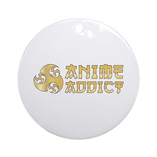 Addict Ornament - Louis Anime Addict Ceramic Ornament 3 inch Round Holiday Christmas Ornament