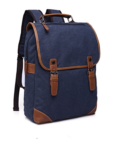 Generic Canvas Vintage Backpack Travel Rucksack School Bag F