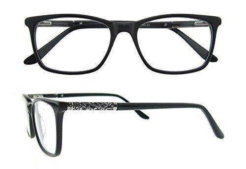 OCCI CHIARI - Monture de lunettes - Femme Taille Unique Noir