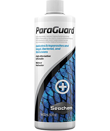 ParaGuard 500 ml / 17 f. oz. Medication For Freshwater Tropical Fish, Saltwater Fish And Aquariums!