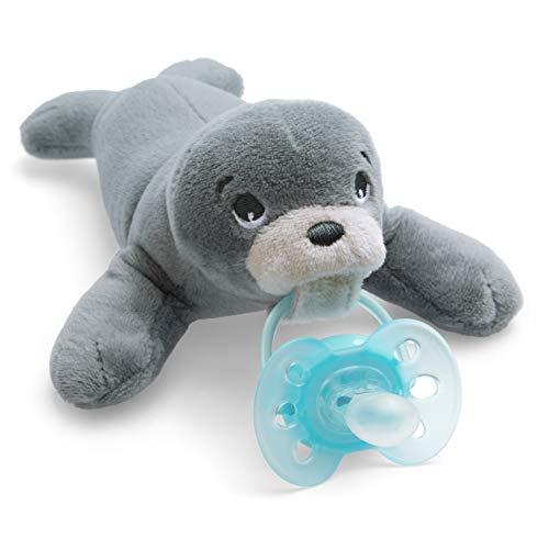 Philips Avent Snuggle Fopspeen – 0m+ – Knuffel met Ultra-Soft speen – Orthodontisch – BPA-vrij – Eenvoudig schoon te…
