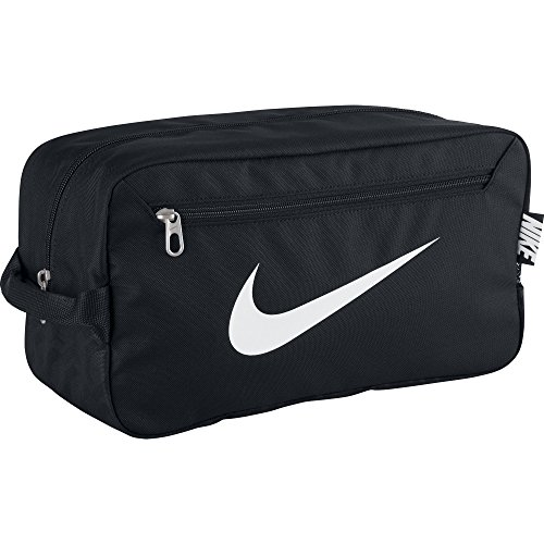 NIKE Brasilia 6 Shoe Bag, Black (Brasilia Nike Bag compare prices)