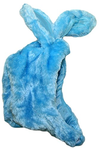 [Blue Easter Bunny Costume Hat - Fits Most Adults and Children!(Blue Bunny Hat)] (Bunny Costume Diy)