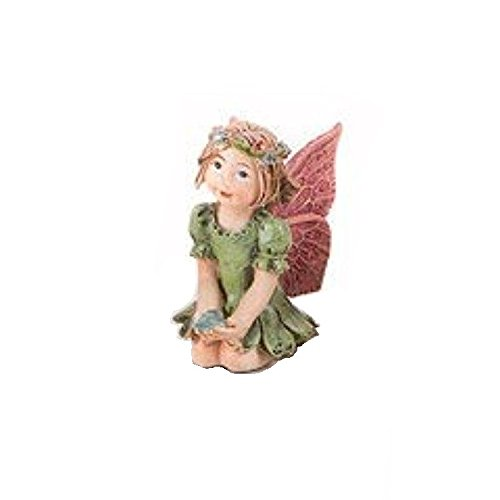 Review Darice 161531 Mini Garden Fairy with Jewel X4 Assorted Resin