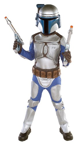 Star Wars Jango Fett Costumes (Rubies Star Wars Jango Fett Child Costume, Small)