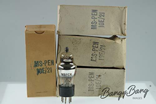 - 4 Vintage Military MS-PEN 10E/21 Premium Vacuum Tube Valve - BangyBang Tubes