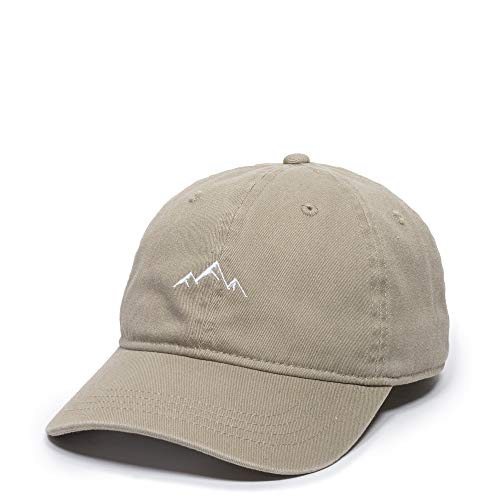 Outdoor Cap -Adult Mountain Dad Hat-Unstructured