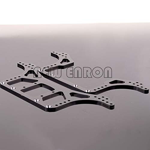 - N10211 Aluminum Rock Racer Conversion Chassis for RC 1/10 Axial AX10 Scorpion Gray