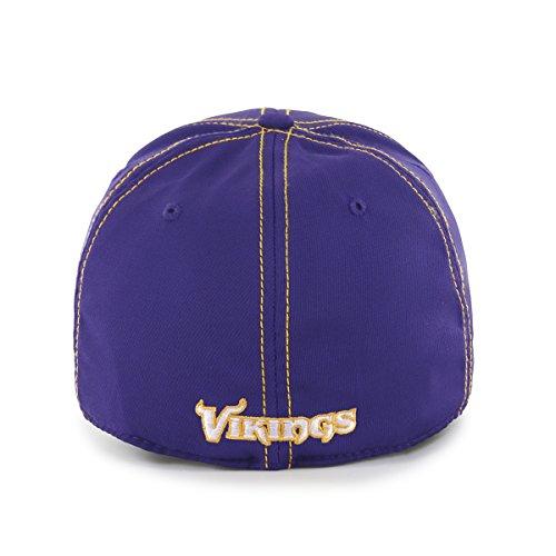 26440dc7725e7 NFL Minnesota Vikings Adult Start Line Ots Center Stretch Fit Hat ...