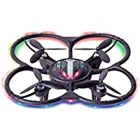 RC Quadcopter, Gotd 300 Thousand Pixels, WIFI 2.4G 4CH FPV High Hold Mode RC Quadcopter with 4 LED lights, Black