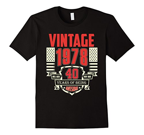 Vintage - Born in 1978 40th Birthday Gift 40 Years Old