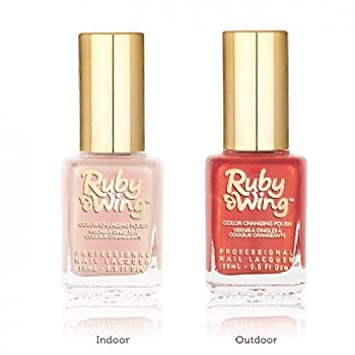 Amazon.com : Ruby Wing Color Changing Solar Activating Scented Nail ...