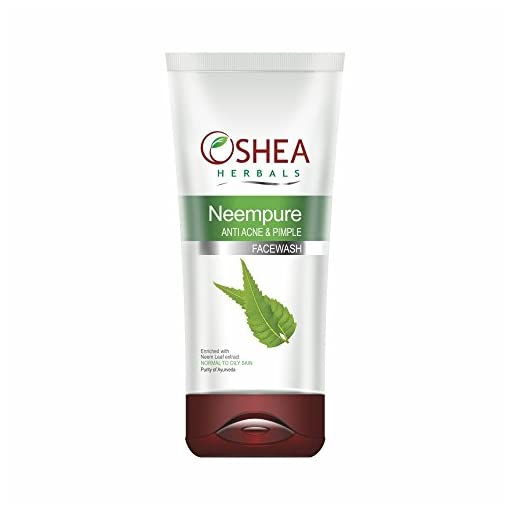 Oshea Herbals Neempure Anti Acne And Pimple Face Wash, 120G