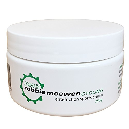 Robbie McEwen Anti-Friction Sports and Chamois Cream - 250g Tub by