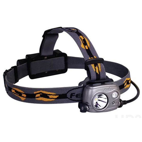 1000 Remote Control Spotlight (Fenix Flashlights HP25R LED Headlamp with Battery, Iron Gray)