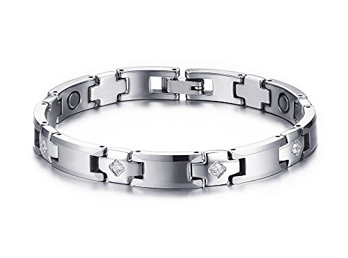 tungsten-stainless-steel-magnetic-healing-energy-stone-gemstone-bracelet-76-silver
