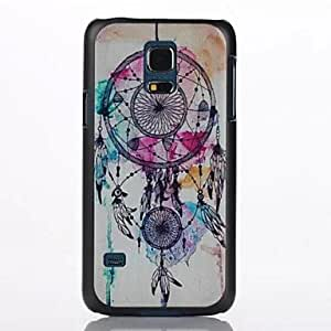 PEACH Oil Painting Pattern Plastic Cover for Samsung Galaxy S5 Mini/G800