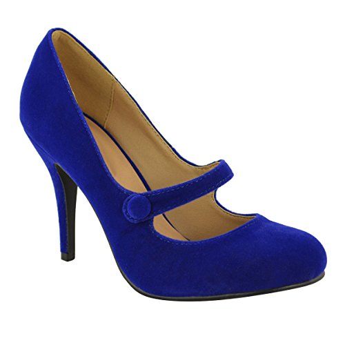 Fashion Thirsty Womens Low Mid High Heel Ankle Strap Court Shoes Work Pumps Sandals Size 7