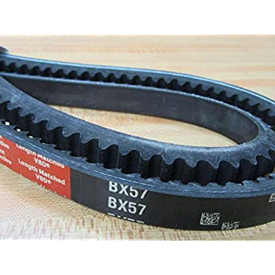 Gates BX57 Belt: Automotive