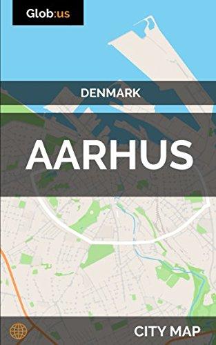 Aarhus, Denmark - City Map
