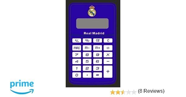 Real Madrid CF Real Madrid Calculadora, Unisex Adulto