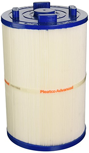 Pleatco PDO75-2000 Replacement Cartridge for Dimension One 75, @Home Hot Tubs (Open with Twist Lock), 1 Cartridge