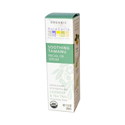Aura Cacia Organic Face Oil Serum - Tamanu - 1 Fl Oz