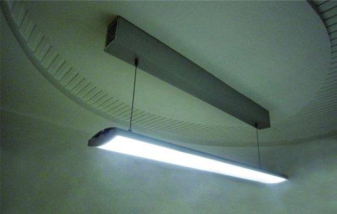 Plafoniera Led Da Soffitto : Profilo alluminio moderno per fare plafoniera led lineare da