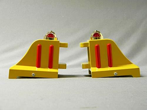 MTH TINPLATE Standard Gauge #25 Lighted Bumpers Cream & - Gauge Mth Standard