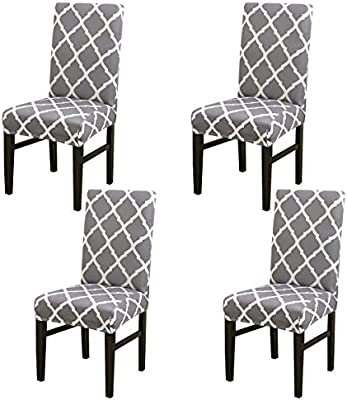 Home Textile White Spandex Wedding Chair Cover Dining Room Chair Decor Set Party Stretch Seat
