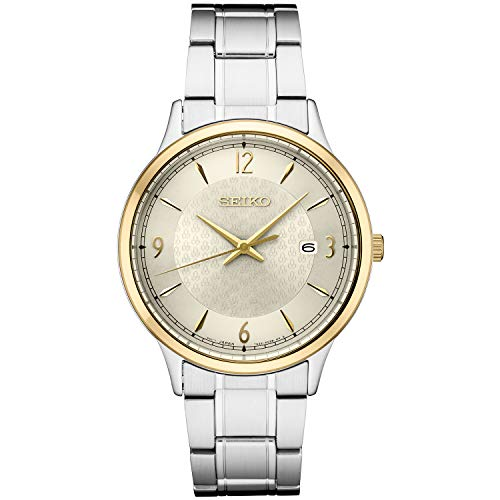 Seiko Men's Japanese Quartz Stainless Steel Strap, Silver, 0 Casual Watch (Model: SGEH92) ()