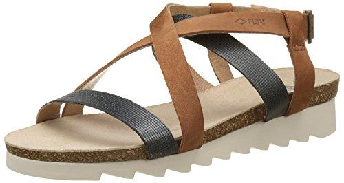 PLDM by Palladium WoMen Rita JKT Open Toe Sandals Brown (Cognac/Bronze H96)