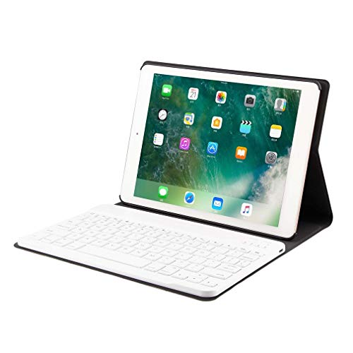 Bangcool Detachable Wireless Keyboard Smooth Fake Leather Cover Set for iPad 9.7/Pro9.7 Air1/2