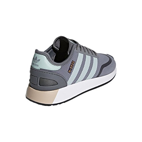 adidas Iniki Runner CLS, Sneakers Basses Femme Gris (Grey Four F17/ash Green S18/ftwr White)